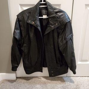 Vintage 80's Leather Jacket - Very RocknRoll 🤘
